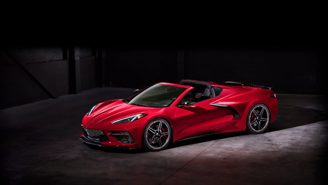 2020 Chevrolet Corvette C8 Gm S Australia Bound Supercar Is