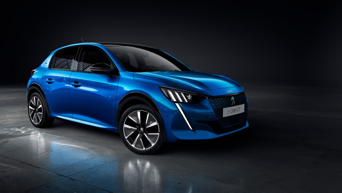 A fully electric 208 could join the Peugeot fleet in Australia.