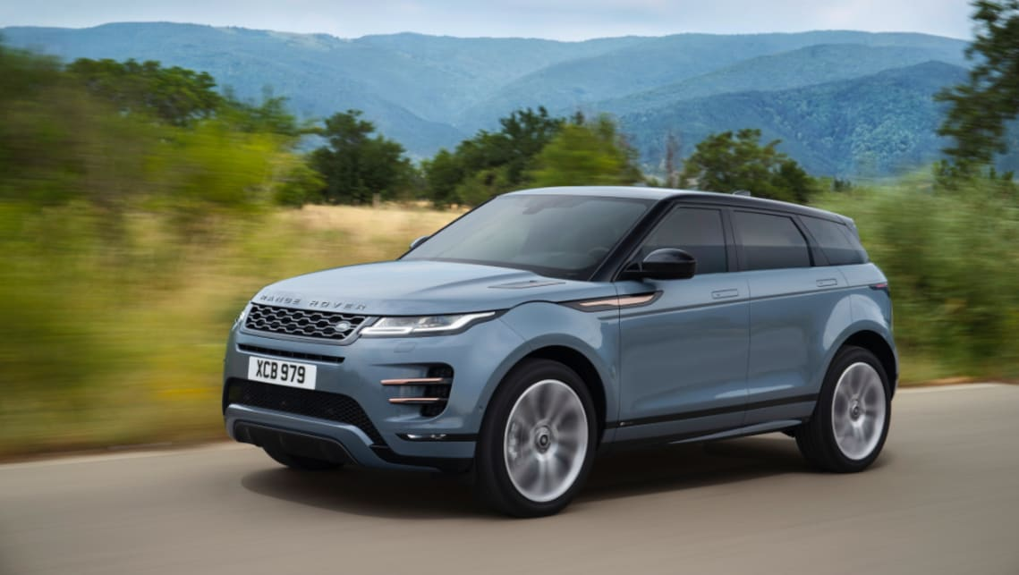 The Range Rover Evoque hits dealerships in May.
