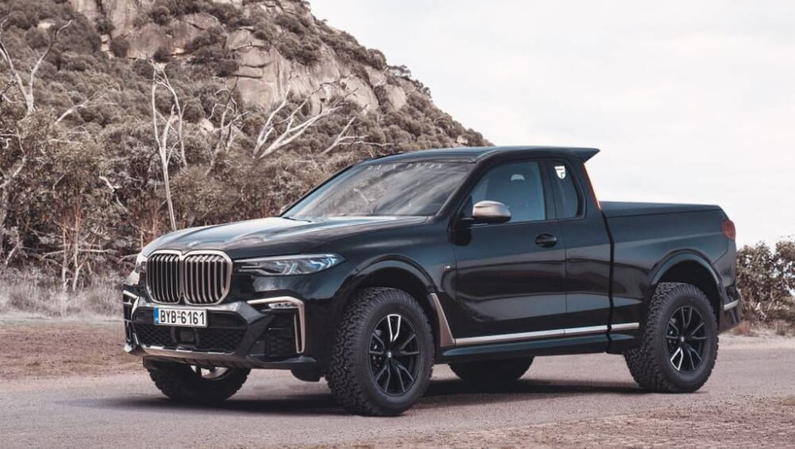 The BMW X7 ute took the internet world by storm.