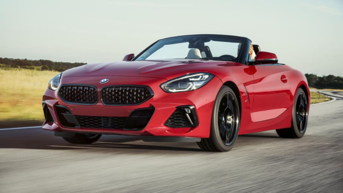 BMW's Z4 has made its first public appearance.