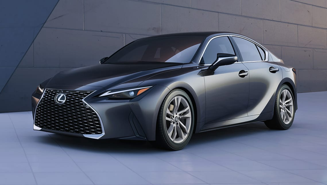 new lexus is 2021 detailed bmw 3 series rival scores new