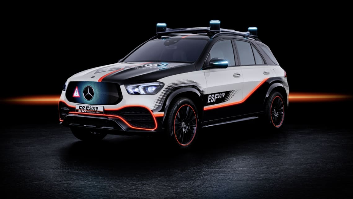 The Mercedes ESF 2019 previews the future of safety tech for the brand.