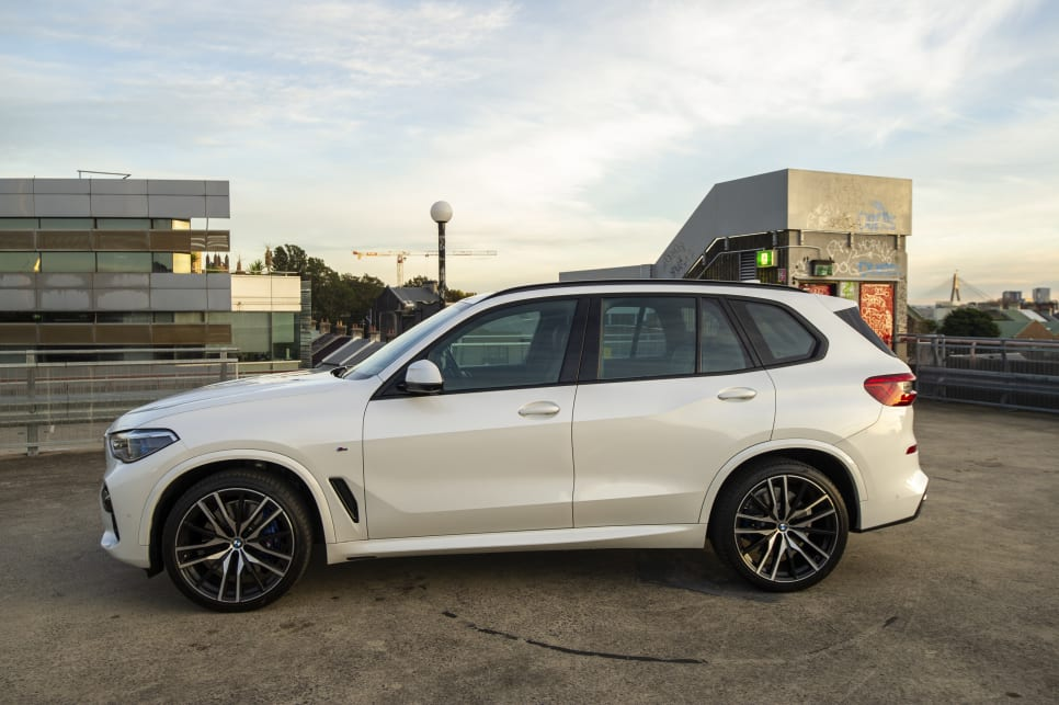 The X5 is sportier and luxurious looking