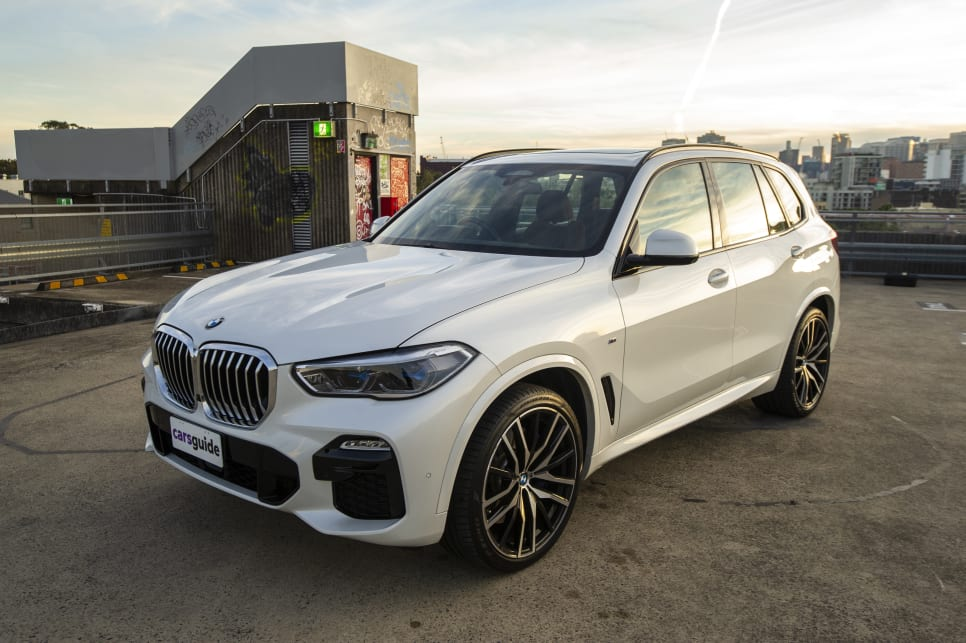 The BMW X5 has a classic design