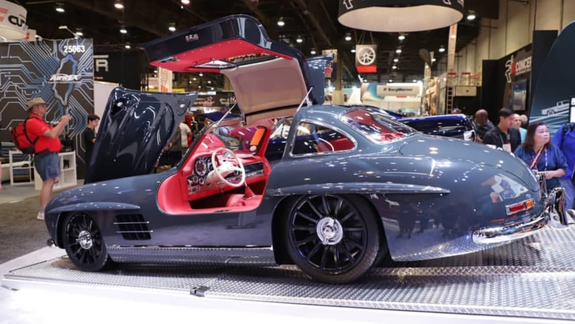 Americans hot rod the world's first supercar - the Mercedes