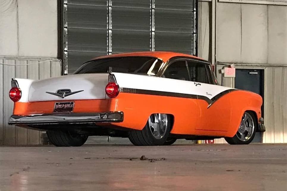 "The ""Vicky"" shows that you don't need to build a tri-five Chevy to have a killer 1950s American car. (image credit: Wild West Paintworks)"