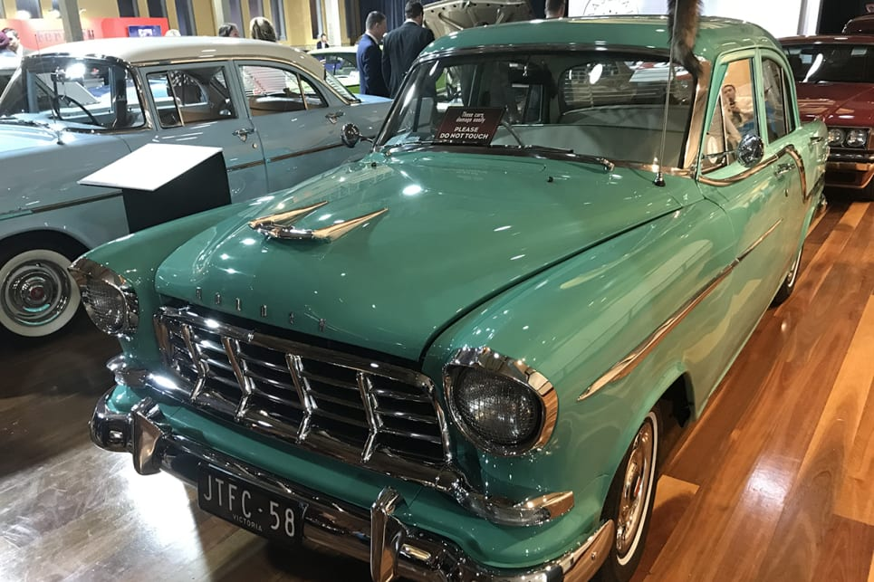 1958 Holden FC sedan. (image credit: James Cleary)