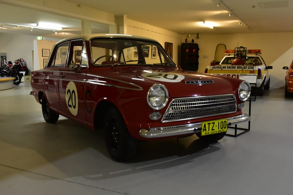 1963 Ford Cortina GT. (image credit: Mitchell Tulk)
