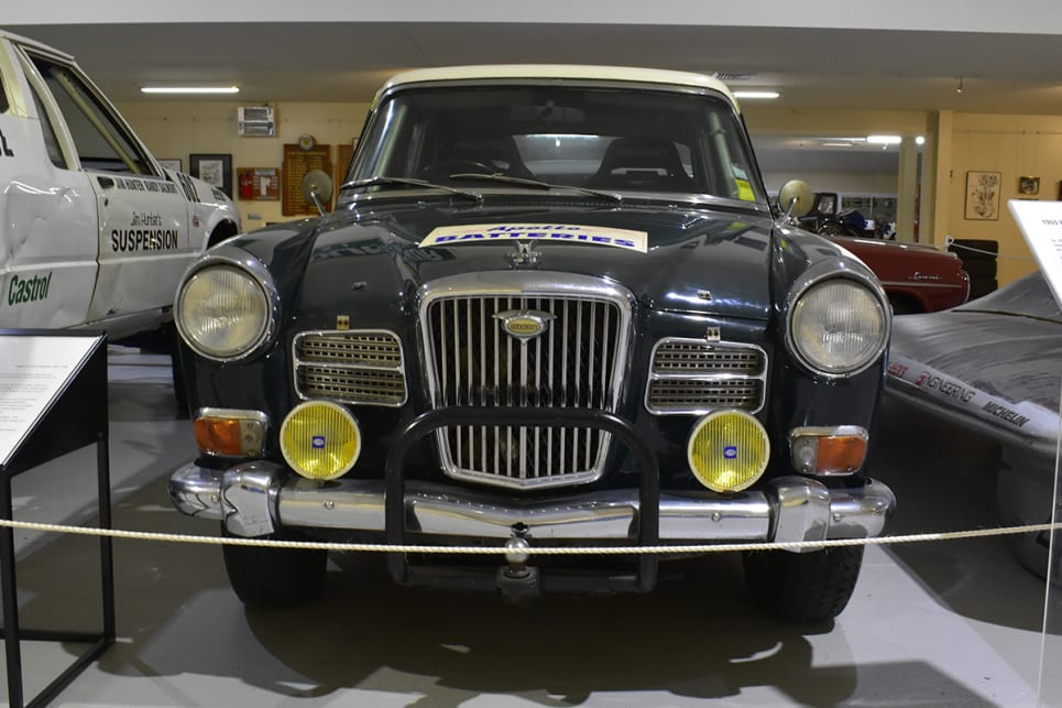 1965 Wolseley rally car. (image credit: Mitchell Tulk)