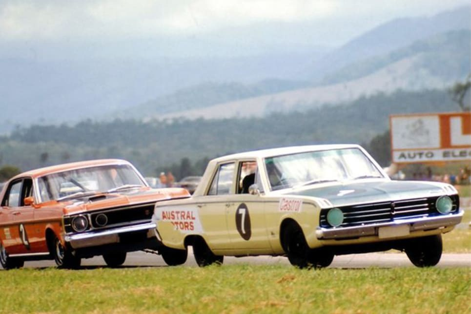 The beginning of Chrysler's short racing career. (image credit: autopics)