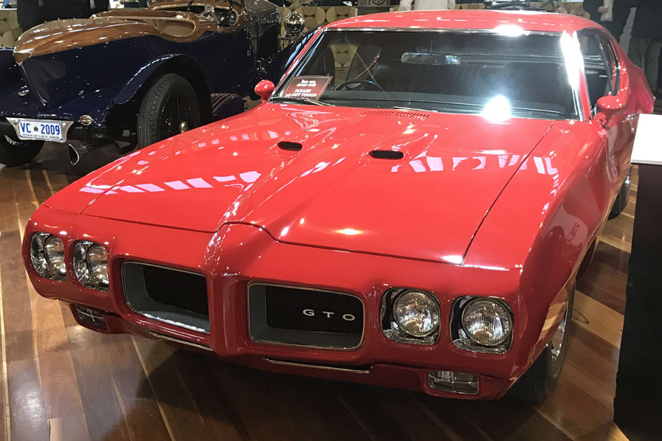 1969 Pontiac GTO. (image credit: James Cleary)