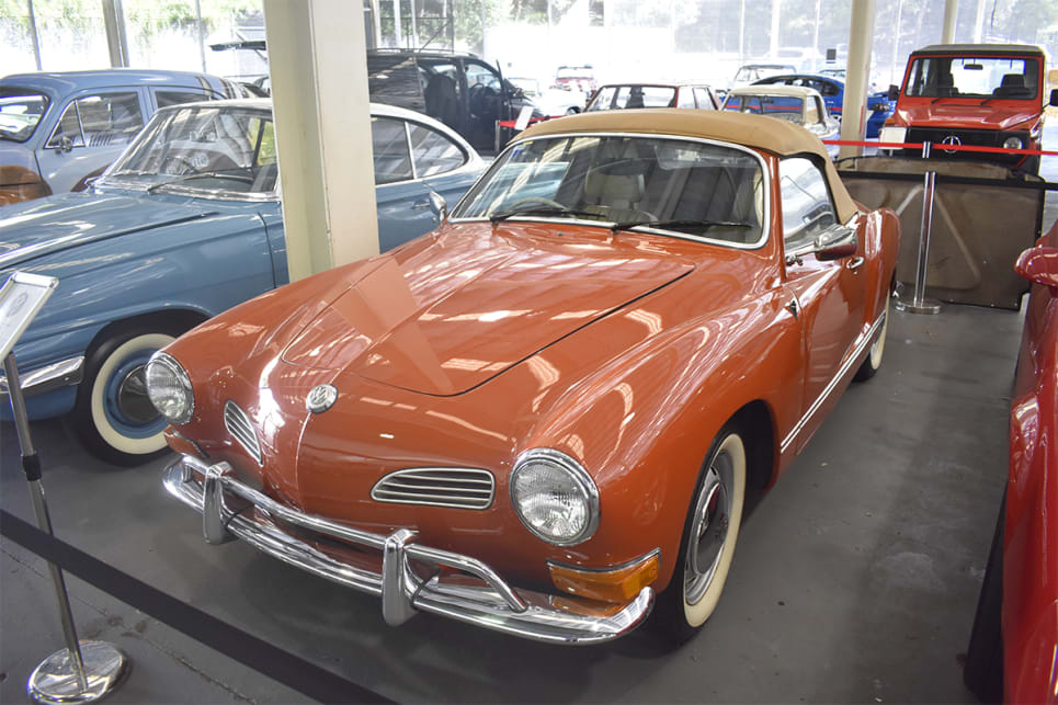 The Karmann was designed by Italian styling house 'Ghia'. (image credit: Mitchell Tulk)