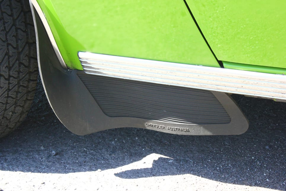 Mudflaps help protect areas that would otherwise be exposed to the elements. (image credit: Ross Vasse)