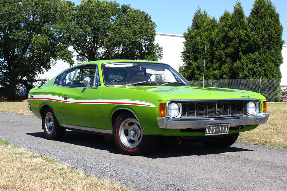 The Green-Go Charger is a child of the '70s, stopping many in their tracks with its bright green paintwork and flamboyant stripes. (image credit: Ross Vasse)