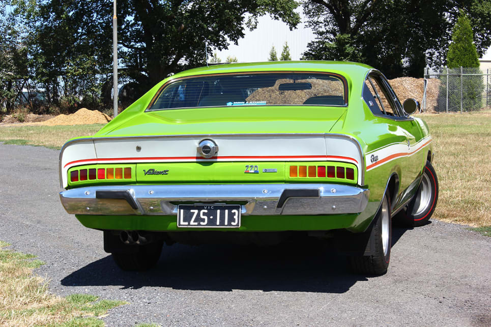 Johnny's Green-Go VJ Charger was built on Thursday 5th September, 1974. (image credit: Ross Vasse)