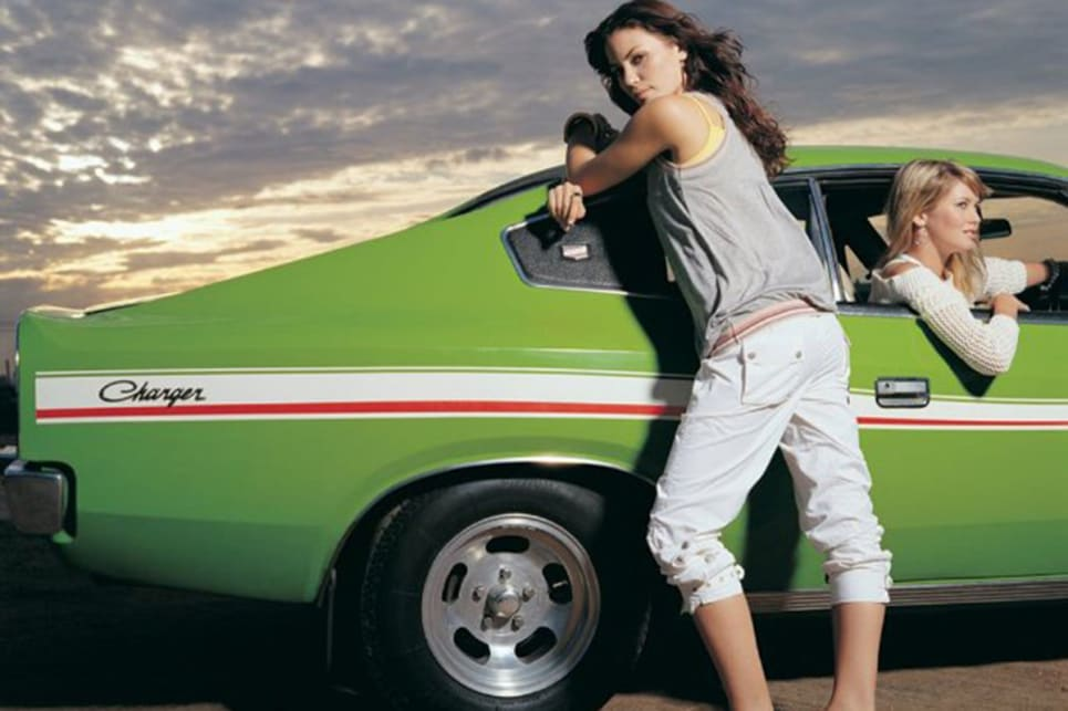 Hey Charger! This VJ Charger featured as part of a Sportsgirl advertising campaign in the mid 2000's. (image credit: Ross Vasse)