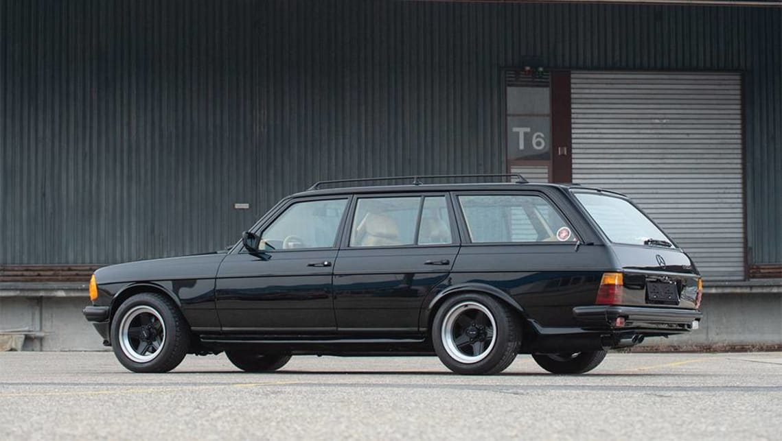 It's rumored that only a pair of wagons were converted to by AMG. (image credit: RM Sothsby's)