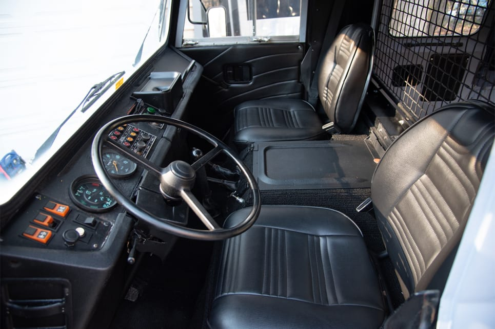 The interior looks brand new! (image credit: Bring a Trailer)