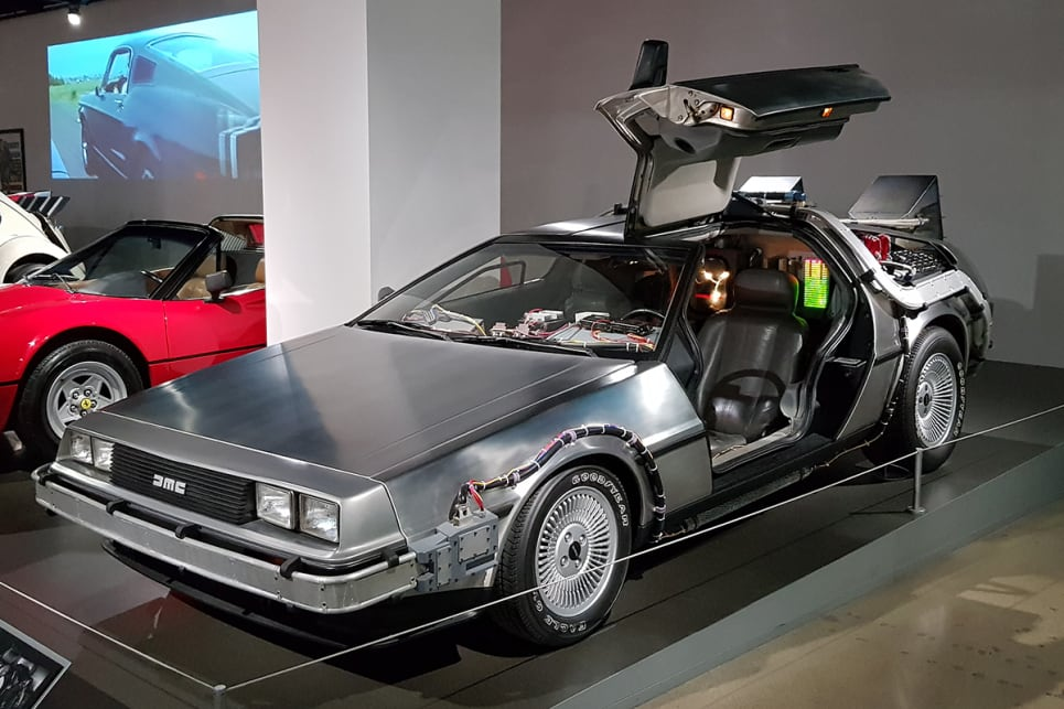 "Out of the three cars built for Robert Zemeckis' 1985 film ""Back to the Future"", this was the Hero ""A"" Car that got most of the screen time. (image credit: Malcolm Flynn)"