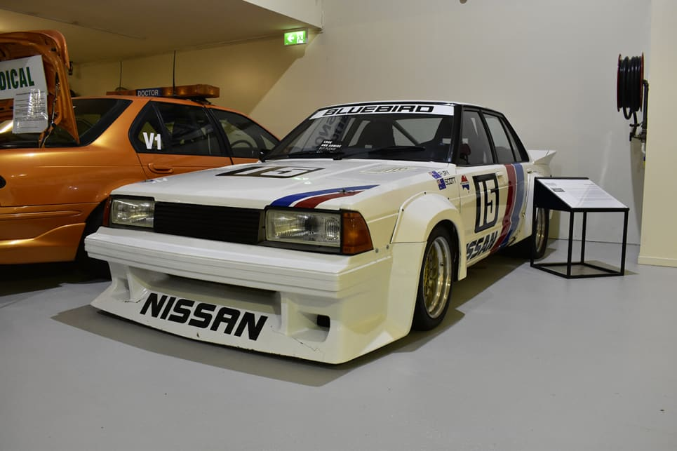 1984 Nissan Bluebird Turbo. (image credit: Mitchell Tulk)