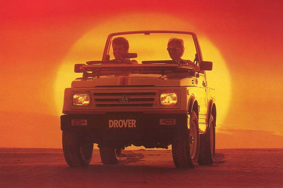 During the '80s the Sierra was also known as the Holden Drover.