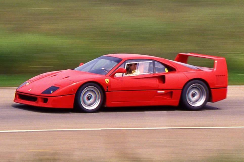 With some claiming that the F40 is Ferrari's best supercar, any attempt at besting it would be with folly. (image credit: Autocar)