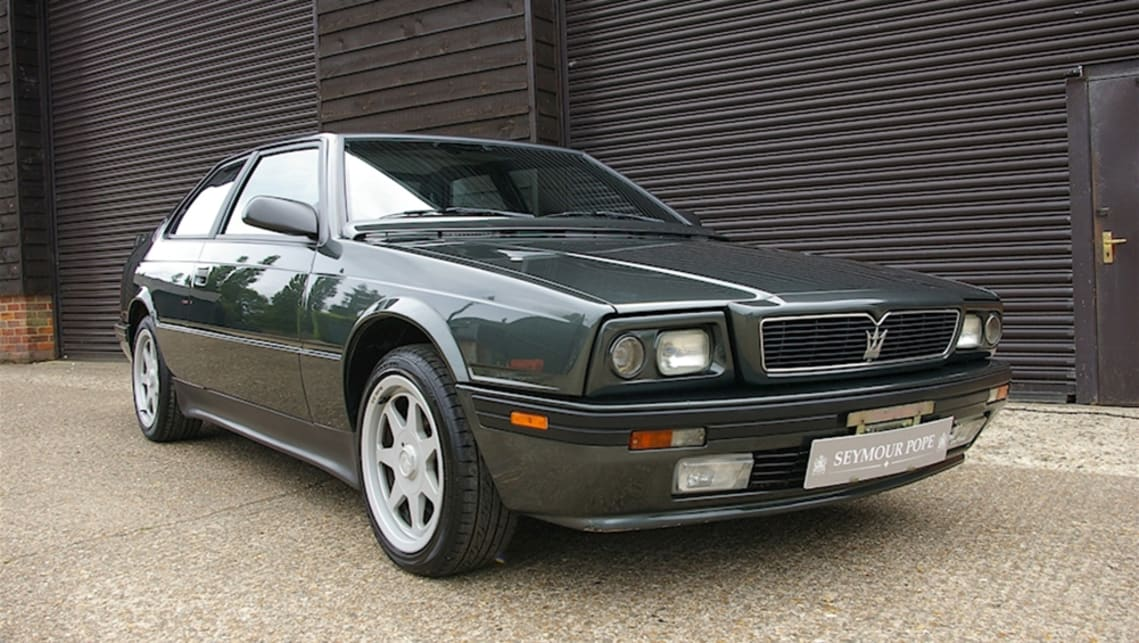 Not the most loved Maserati as the Biturbo had countless problems (image credit: Seymour Pope)