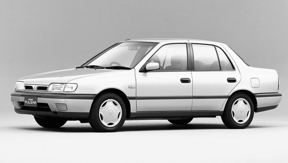 The Nissan Pulsar was available as a sedan and hatch.