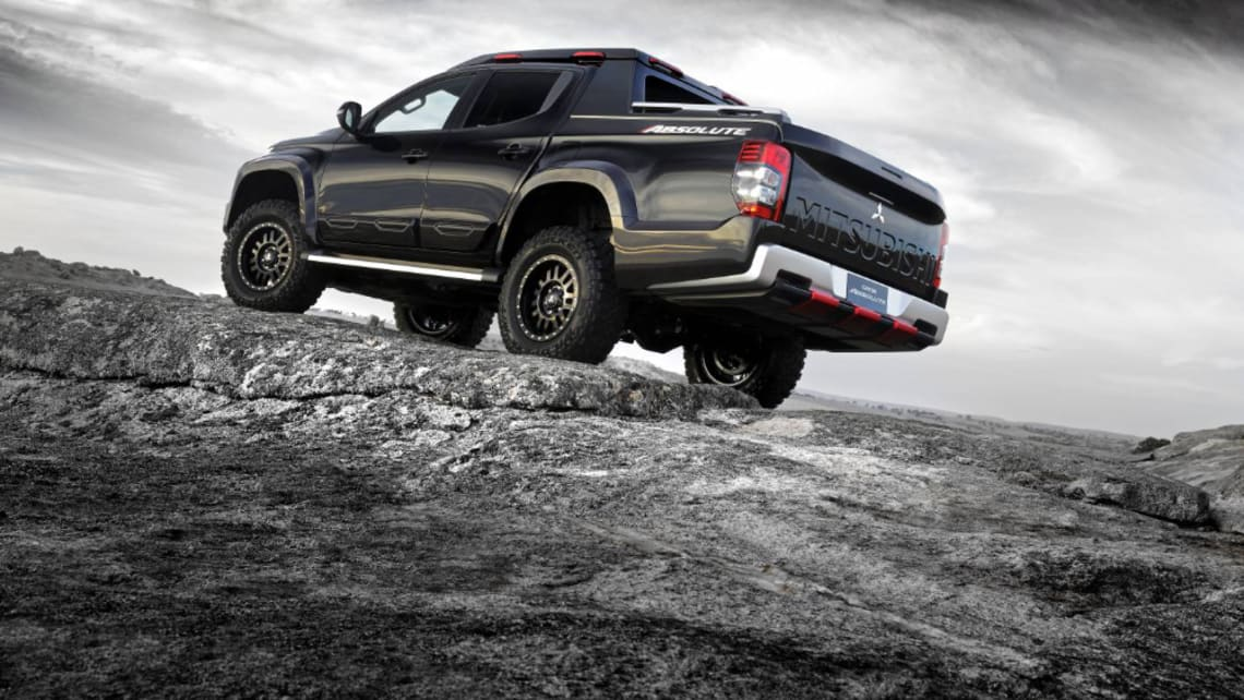 Underneath the Triton's ride height has been increased by 50mm for improved ground clearance.