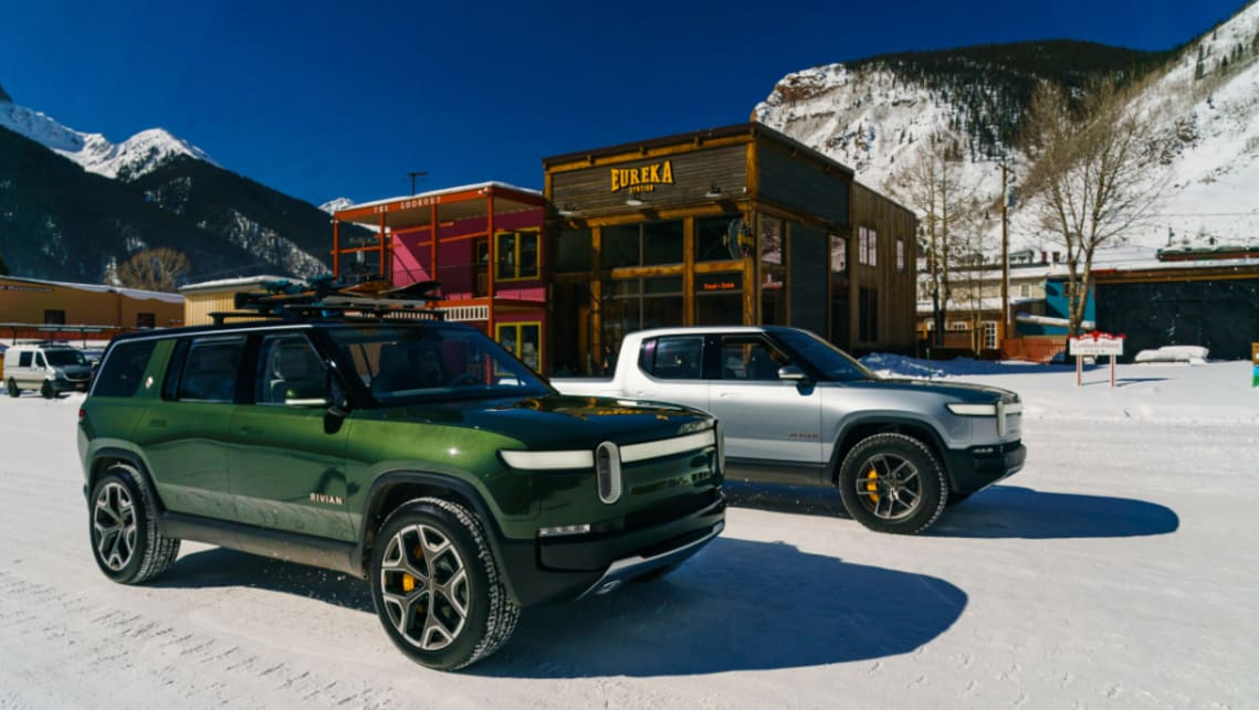 Image result for rivian r1t
