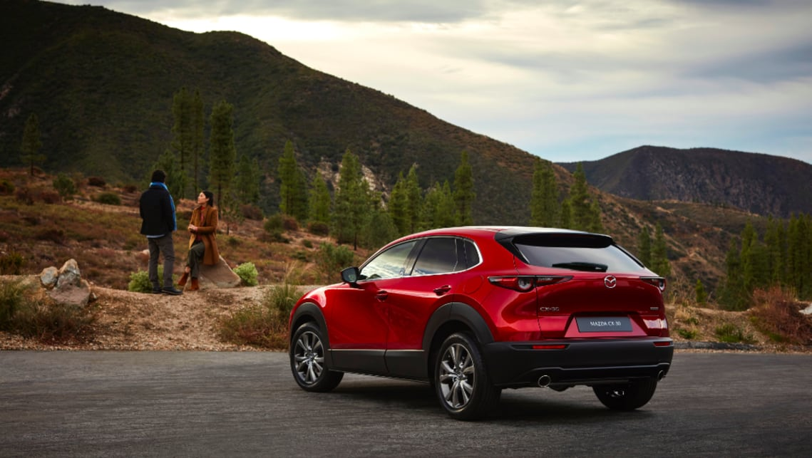 The CX-30 will boast 430 litres of boot space.