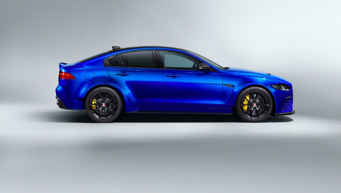 "Jaguar's stonking XE SV Project 8 Touring is the ""world's fastest production sedan"""