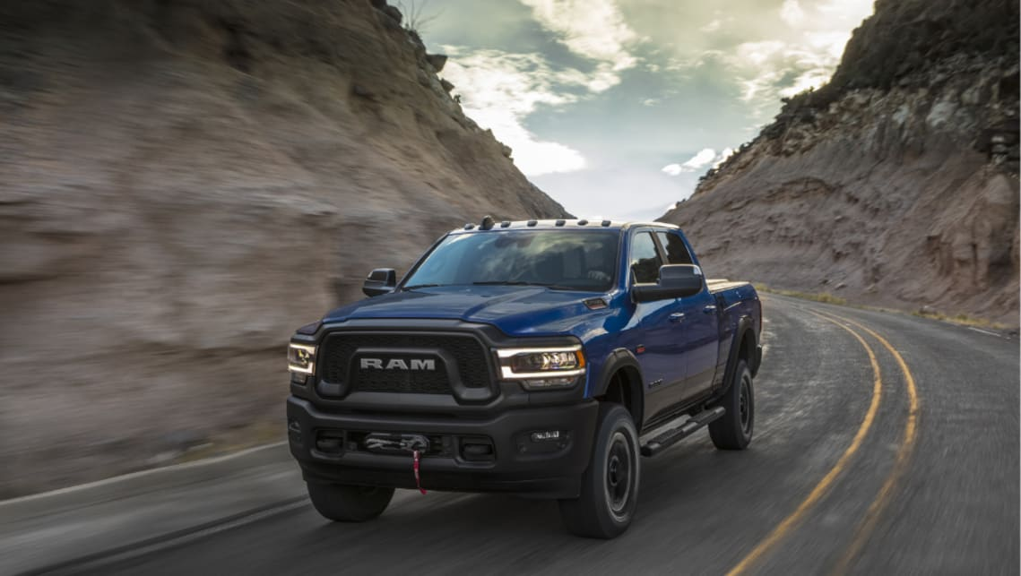 "Ram Australia has ""put its hand up"" for the new Power Wagon."