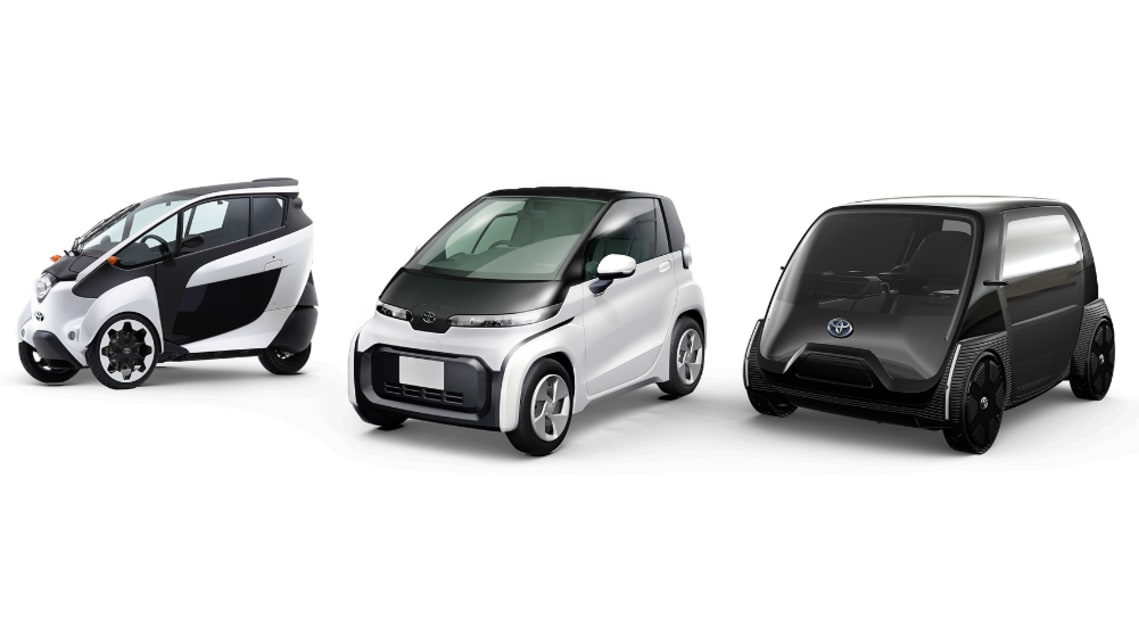 Toyota unveils electric vision: Six new EVs ready for