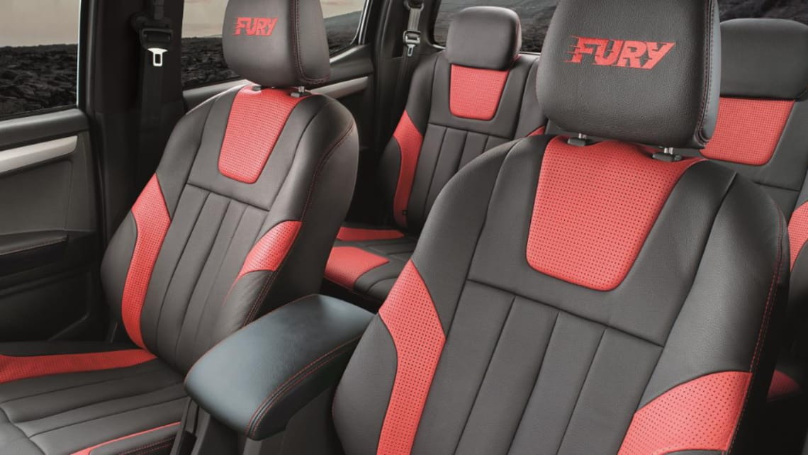 Isuzu D-Max Fury 2019 unleashed overseas