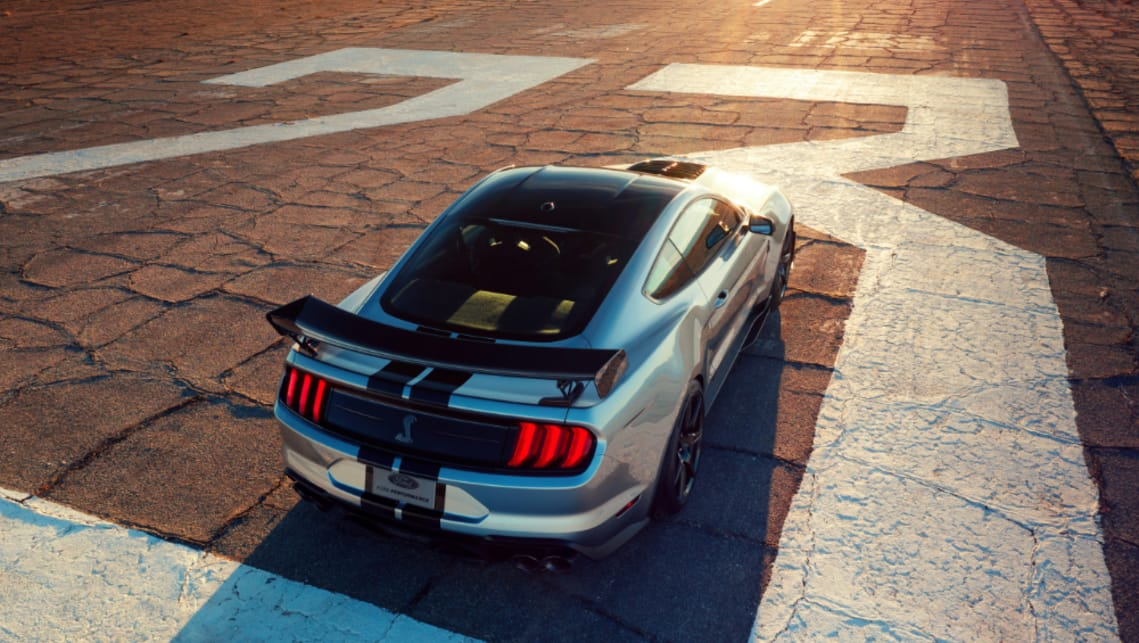 Ford Mustang Shelby GT500 2020: Fastest, most powerful