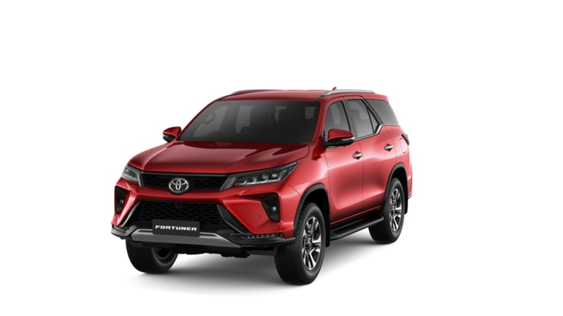 OFFICIAL: This is the 2021 Toyota Fortuner - more power, more tech for HiLux-based SUV