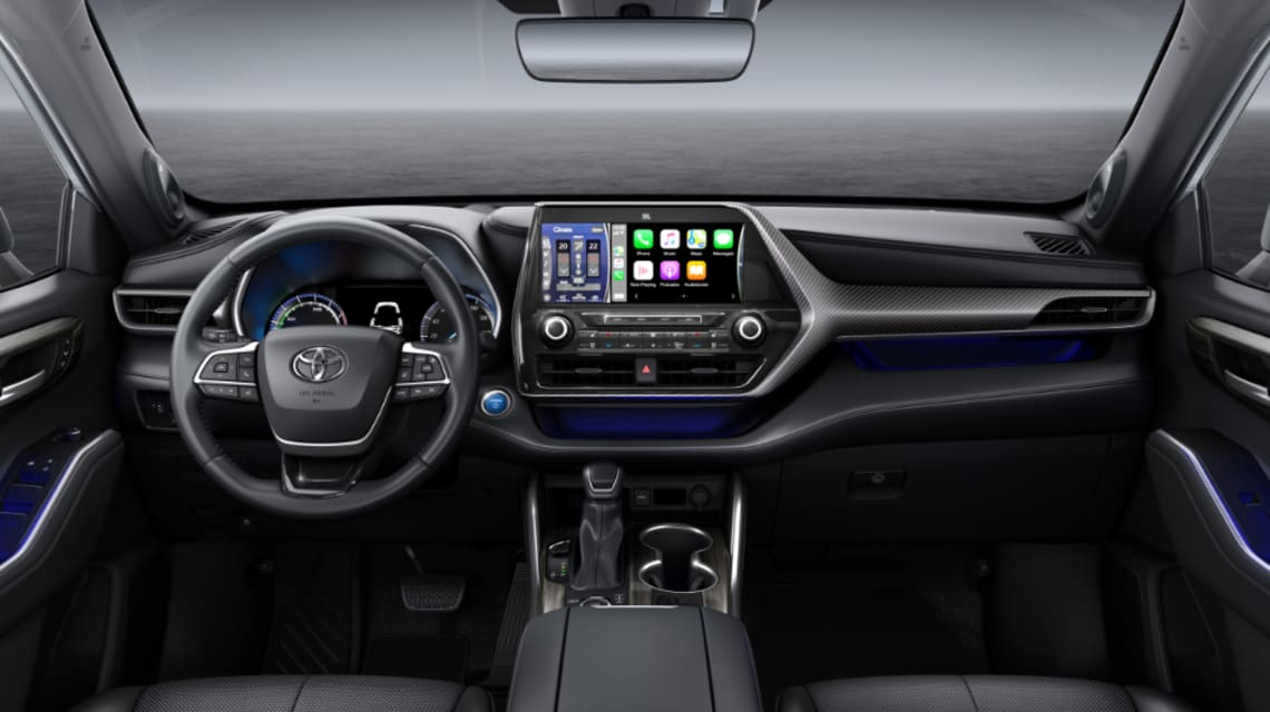 new toyota kluger 2021 to get electric power hybrid 25