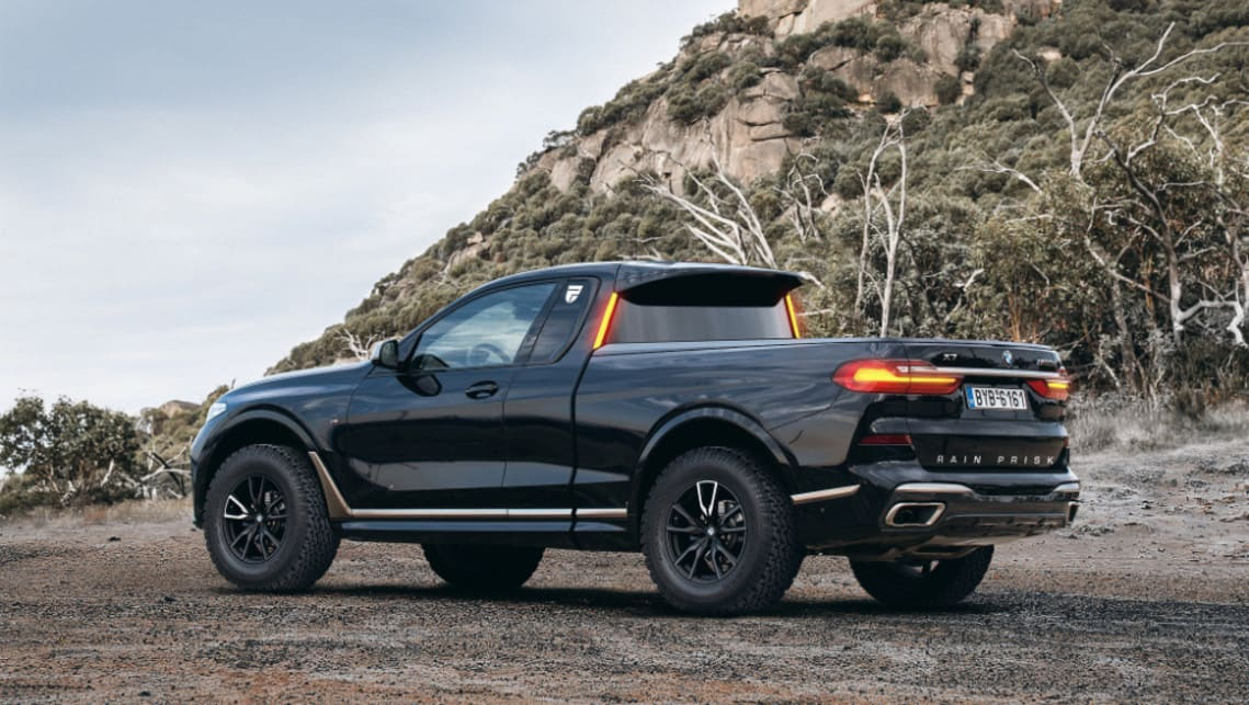 bmw x7 ute reimagined what the bonkers bavarian pickup