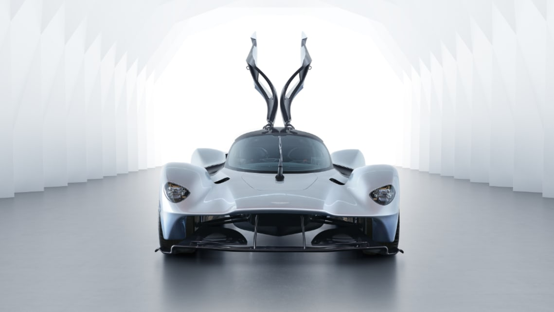 Aston Martin originally tweeted that the Valkyrie would make 1130bhp, but later deleted this claim.