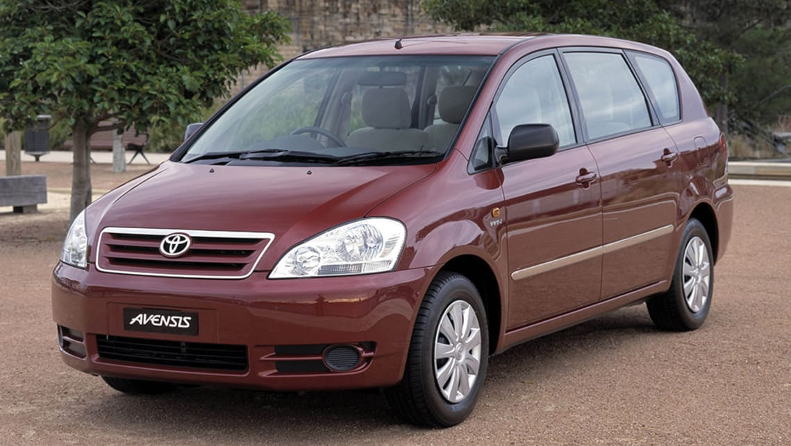 Used Toyota Avensis Verso Review 2001 2010 Carsguide