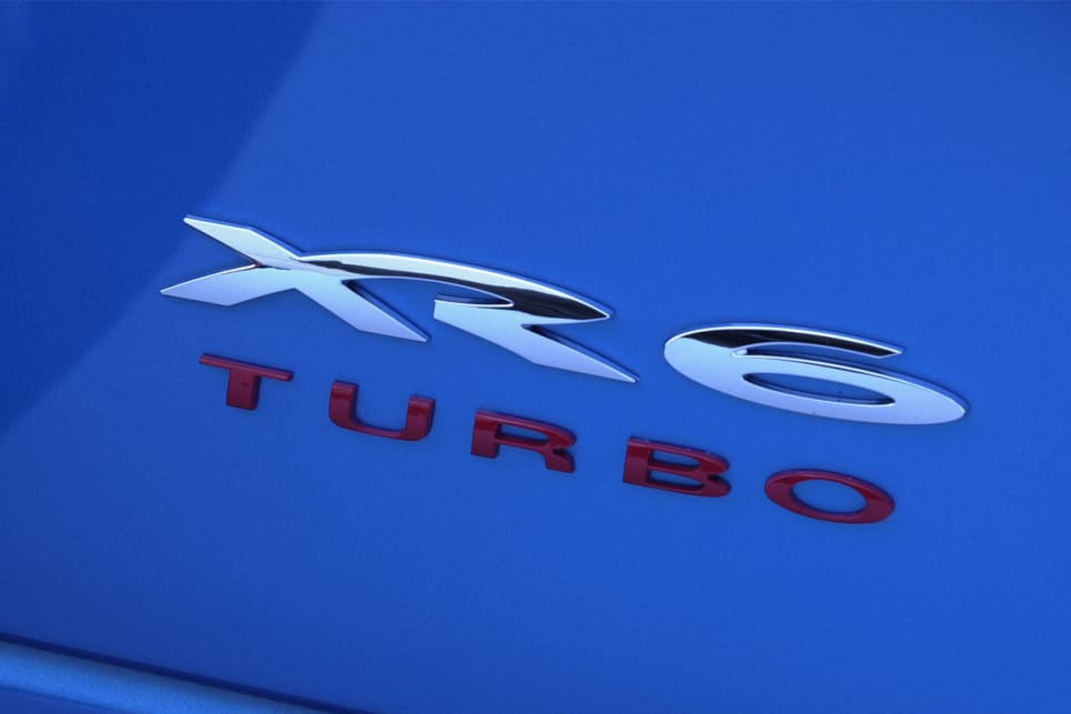 The XR6 Turbo quickly became Ford's top dog in terms of performance.