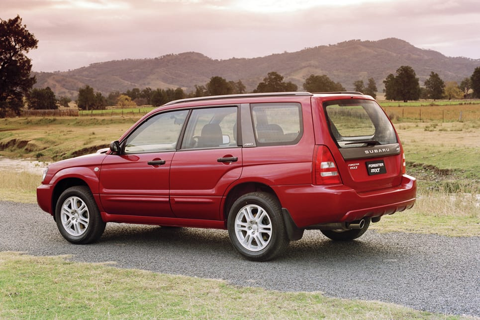 This model Forester was not affected by the Takata airbag inflator recall.