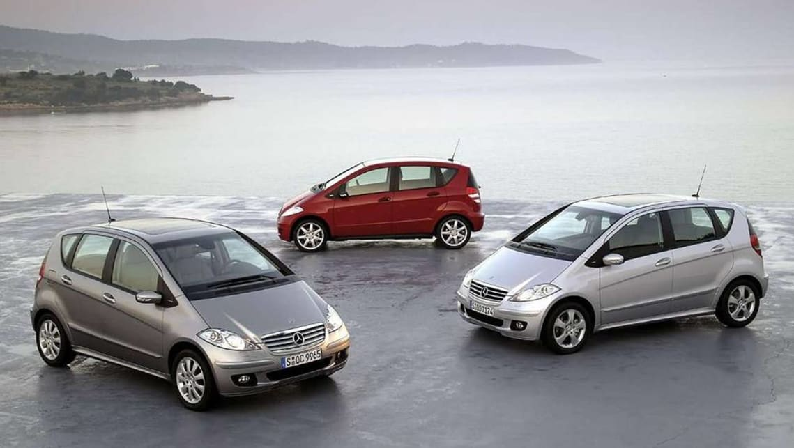 Mercedes-Benz A-Class 2005 Review   CarsGuide
