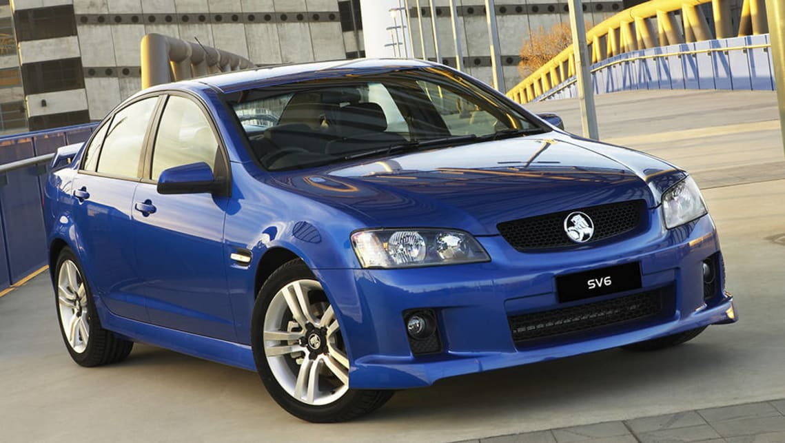 2006 VE Commodore SV6.