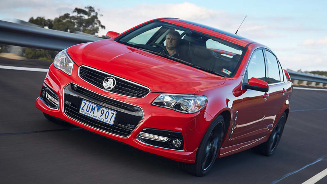 2013 VF Commodore SS-V.