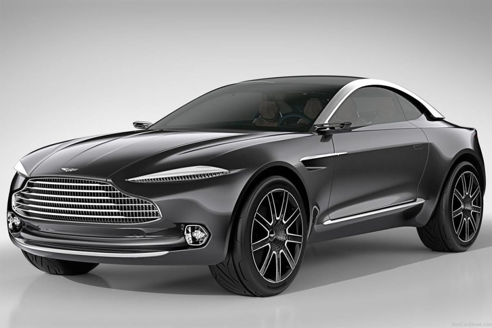 The design of the DBX appears similar to the concept that Aston Martin showed at the Geneva motor show in 2015.