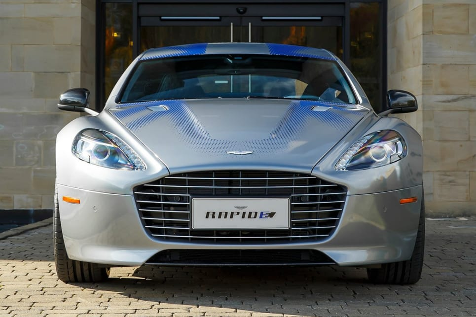 The Rapid-e is aimed at replacing the V12 powered Rapide in years to come.