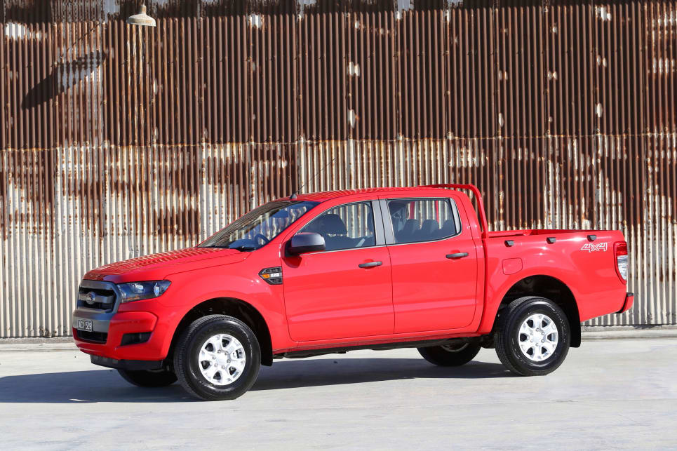 There was also a choice of models from basic entry-level to the XLT with every feature you could wish for.